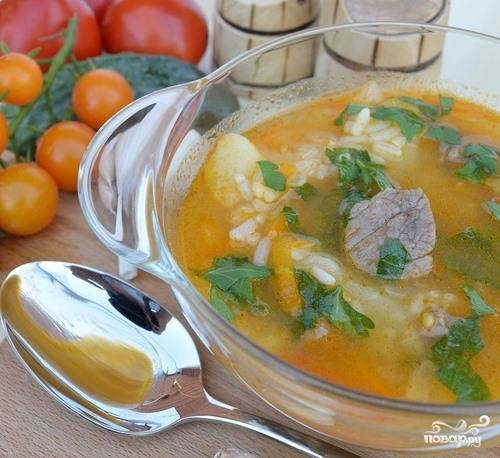 Суп харчо оригинальный