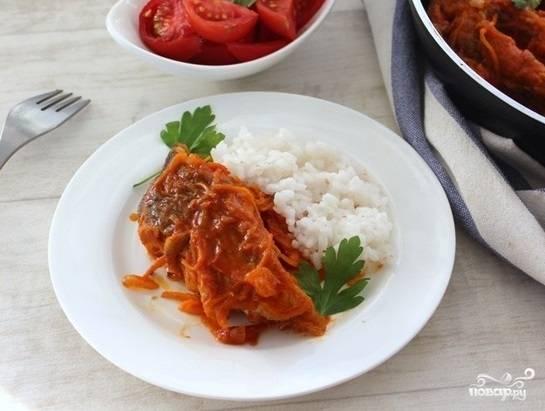 Рыба в маринаде классический рецепт