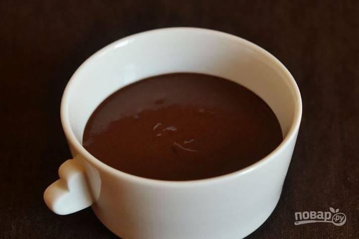 Шоколадный крем со сливками