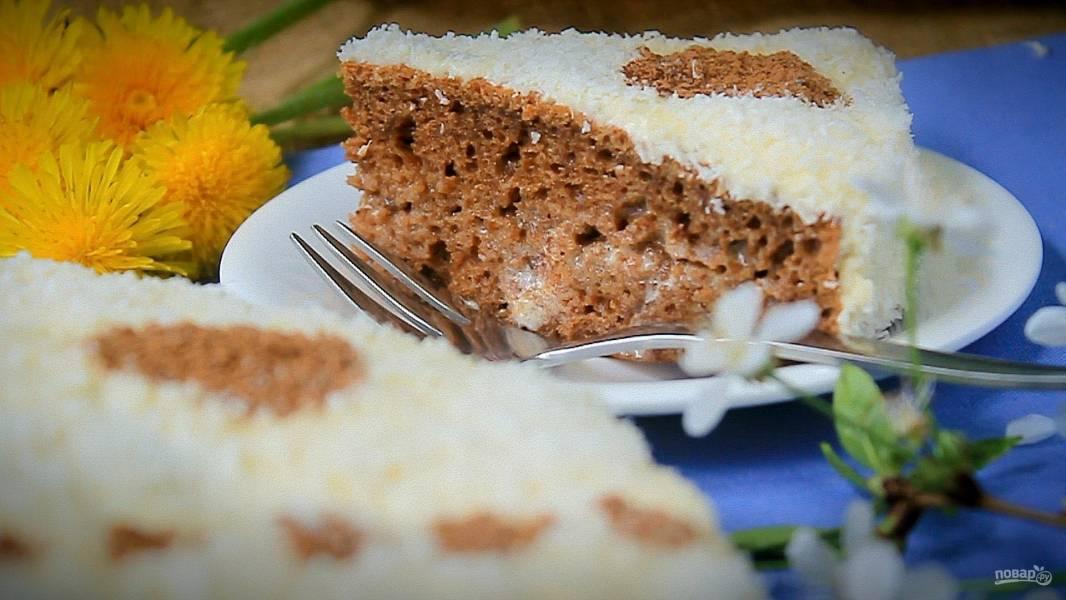Быстрый тортик на кефире