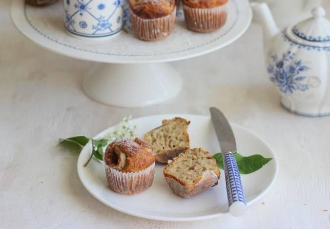 Готовые маффины из кабачков перед подачей посыпьте сахарной пудрой. Приятного аппетита!