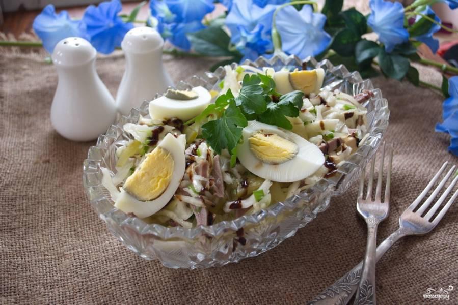 Салат быстро и вкусно
