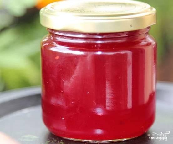Густое варенье из красной смородины