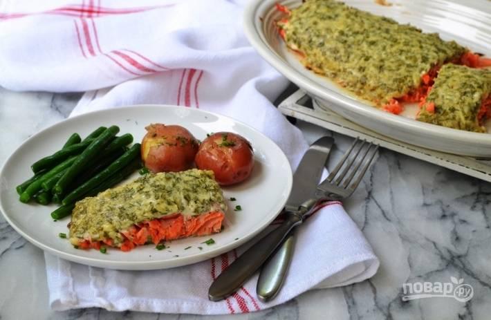 4. Как только появится характерный аромат и румяная сырная корочка, подавайте блюдо к столу!