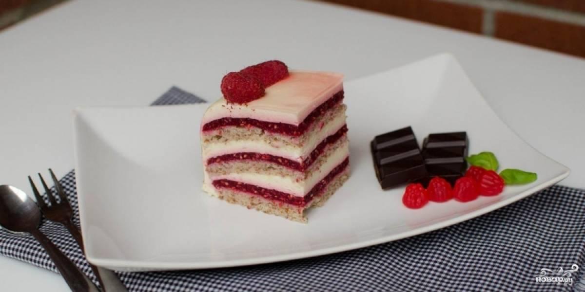 Охладите торт перед подачей. Приятного аппетита!