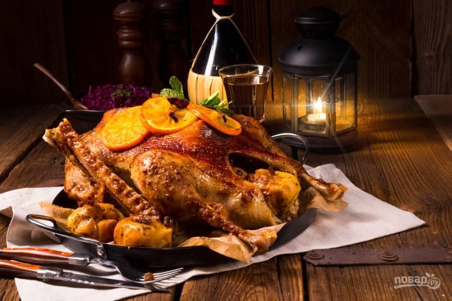 Как запечь рождественского гуся (подробный разбор и рецепты)