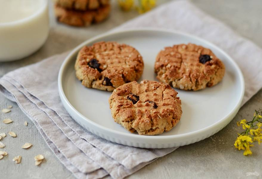 Овсяное печенье с протеином