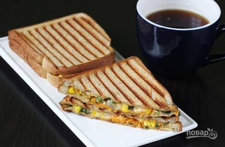Ешьте бутерброды горячими!