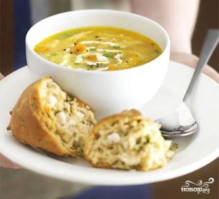 Суп из пупков куриных