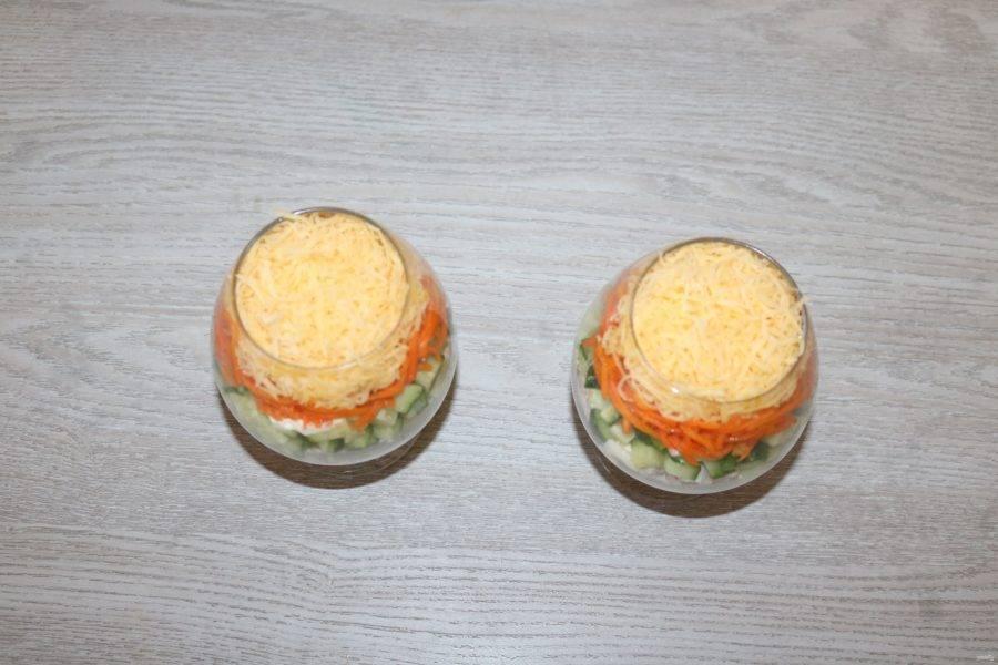 Пятый слой - сыр.