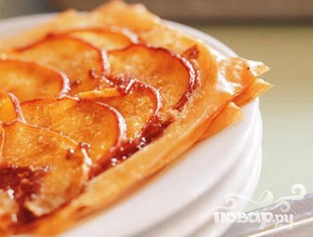 Печенье с персиками