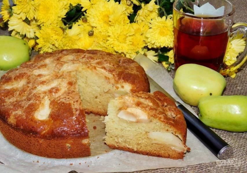 Вечерний яблочный пирог