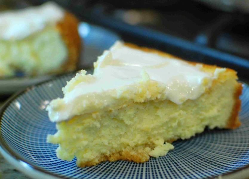 Вот такой итальянский пирог с сыром в разрезе. Приятного аппетита!