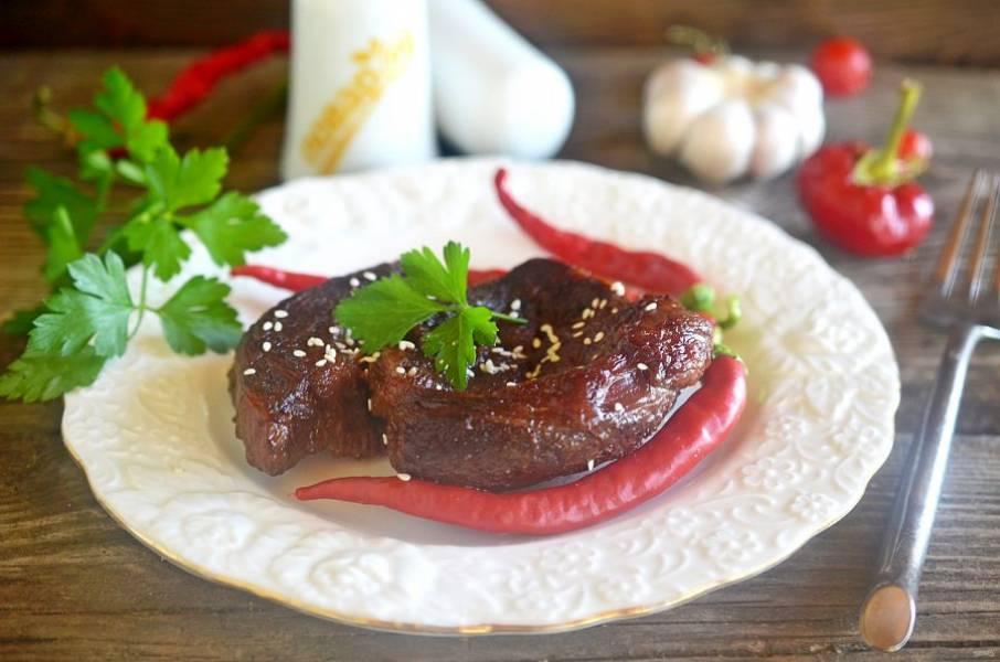 6. При подаче посыпьте кунжутом. Приятного аппетита!