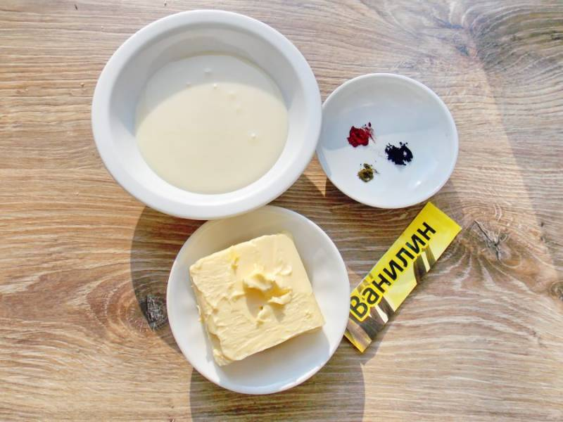 Подготовьте все необходимые ингредиенты для приготовления крема.