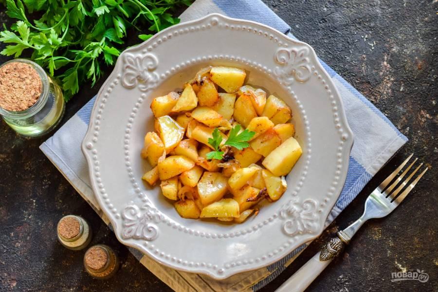 Картошка в банке в духовке