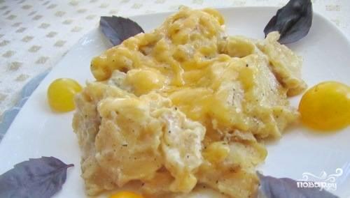 Телятина с картошкой в духовке