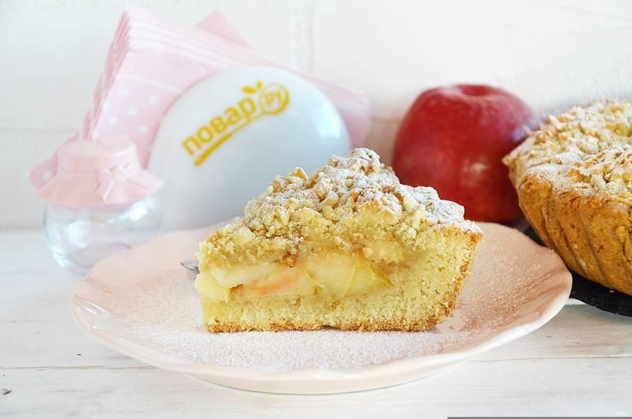 Яблочный пирог от Аллы Ковальчук