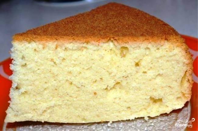 Бисквитное тесто на сметане