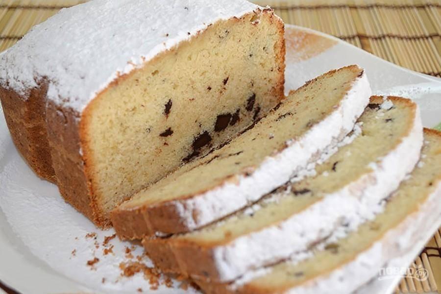 Кекс на кефире в хлебопечке