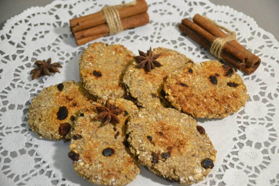 Овсяное печенье на сковороде