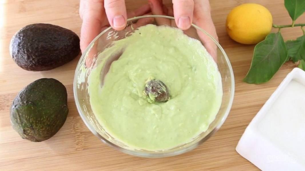 5. Перетрите соус в единую консистенцию.
