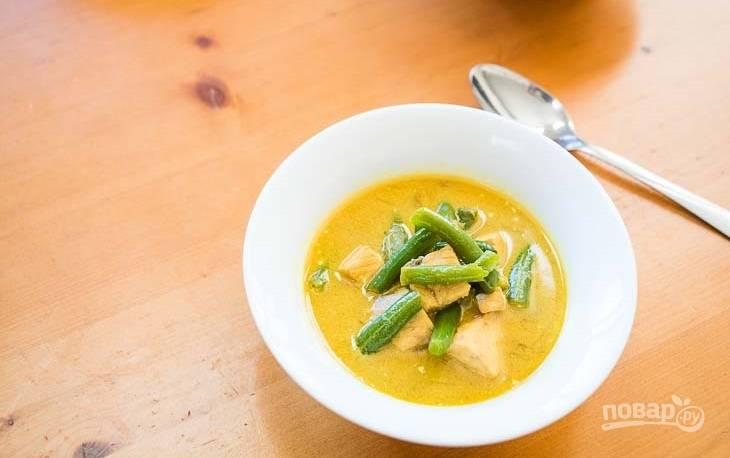 Суп из стейка семги