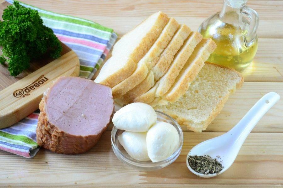 Подготовьте все необходимые ингредиенты. Включите духовку разогреваться до 180 градусов.