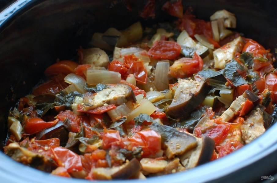 9.Сочные и мягкие овощи готовы. Приятного аппетита!