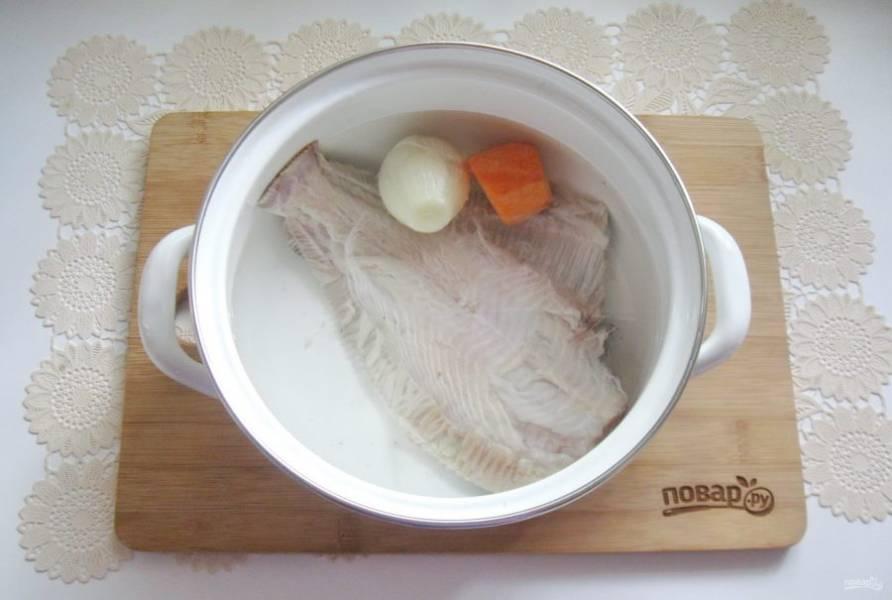 Залейте свежей водой и поставьте на плиту.