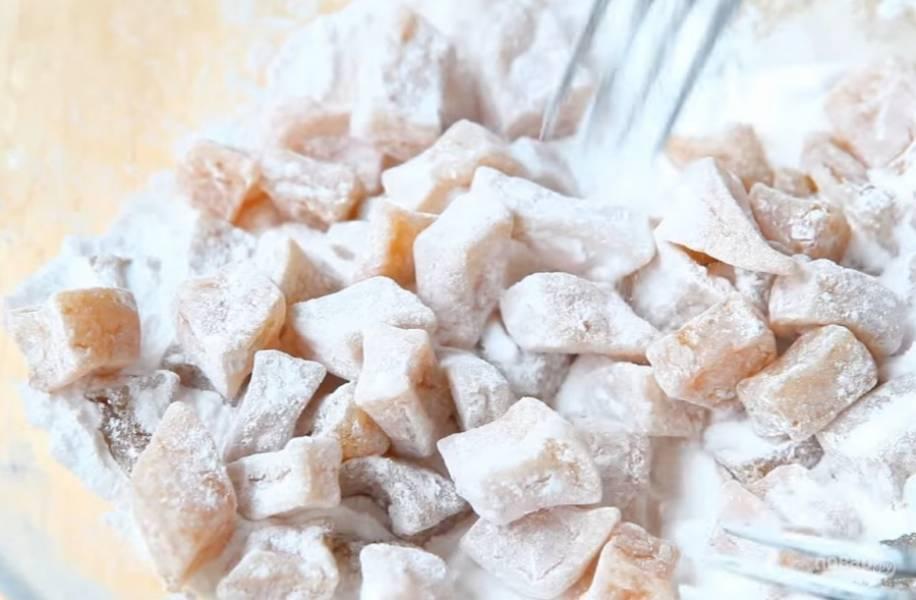 7.Когда цукаты остынут, посыпьте их сахарной пудрой. Приятного аппетита!