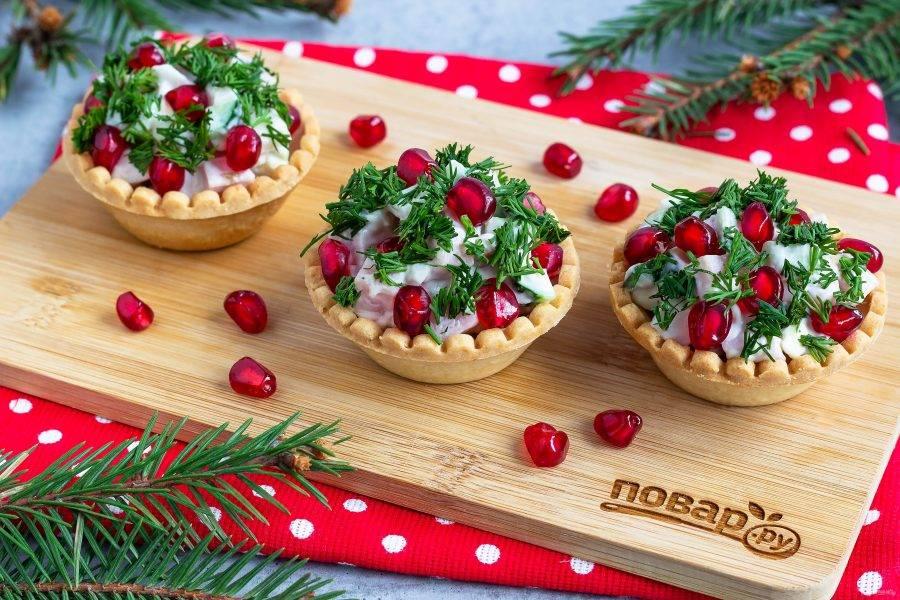 5 быстрых салатов на новогодний стол (а еще красивых и дешевых)