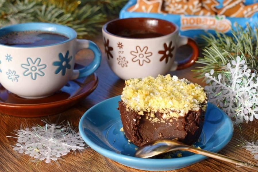 А утром с чашечкой чая или кофе наслаждайтесь каждой ложечкой счастья!