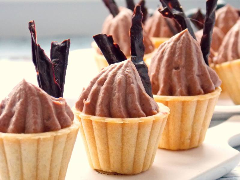 Шоколадный крем-чиз на сливках