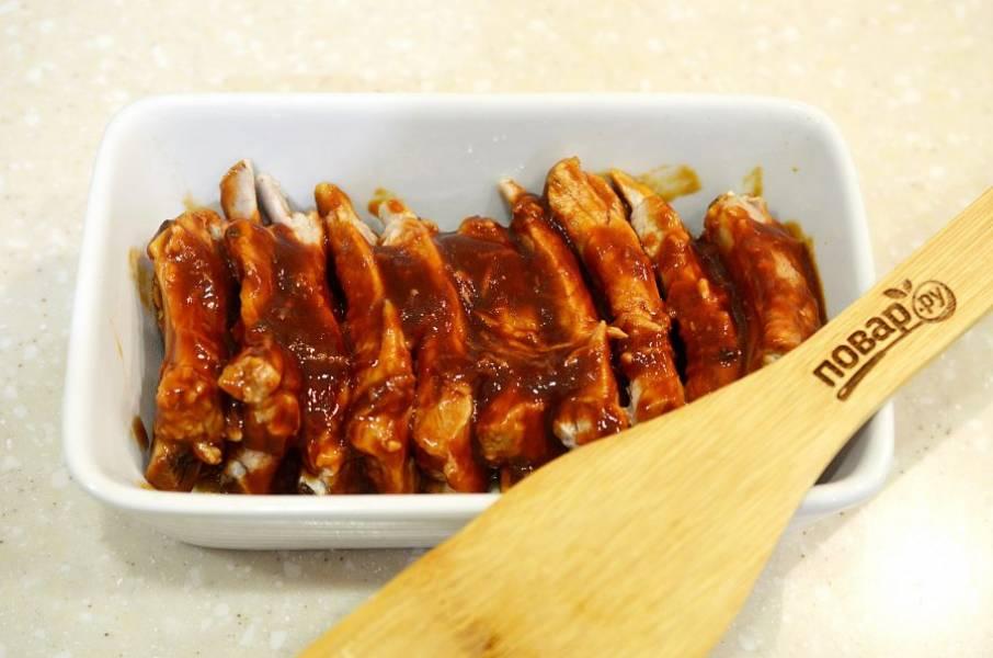 6. Выложите в жаропрочную форму и запекайте в духовке при 180 градусах около 30 минут.