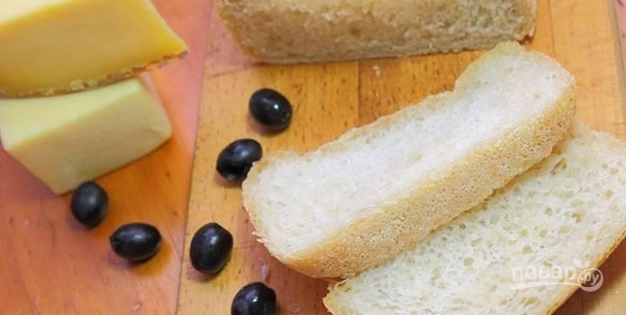 Хлеб чиабатта в хлебопечке