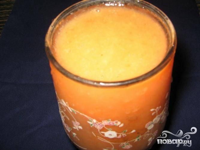 5.Подавайте витаминный напиток без промедления, пока он прохладный, именно так вы в полной мере насладитесь ярким вкусом и огромной пользой коктейля.