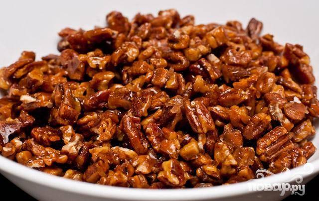 Пралине из грецких орехов с медом