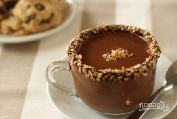 Жидкий шоколад