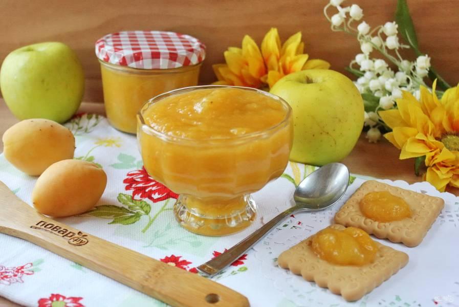 Яблочно-абрикосовый джем