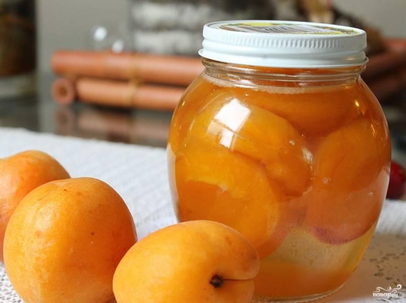 Варенье из абрикосов в духовке