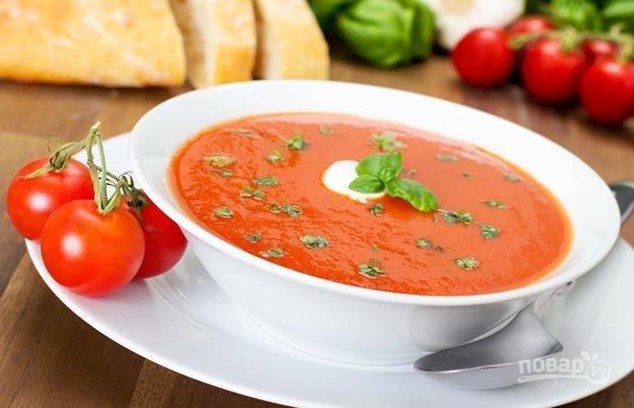 Суп-пюре для похудения
