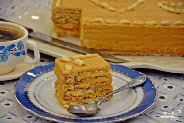 """Торт """"Вафельный"""""""