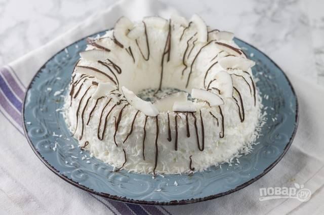 Кокосовый десерт