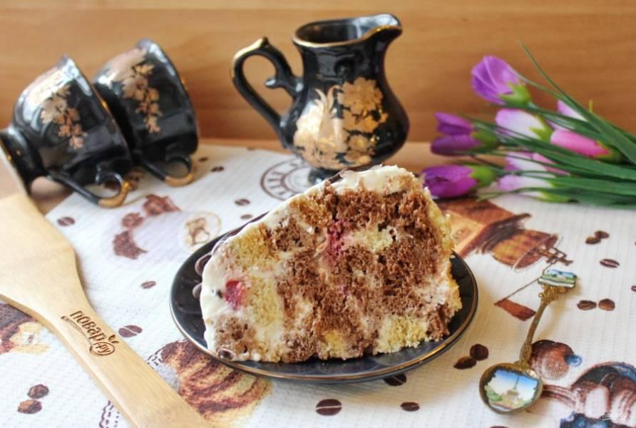 Замечательный десерт в будни и праздники к чаю, кофе.