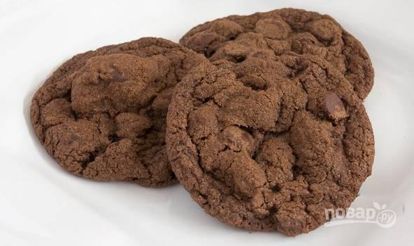 """Печенье """"Двойной шоколад"""""""