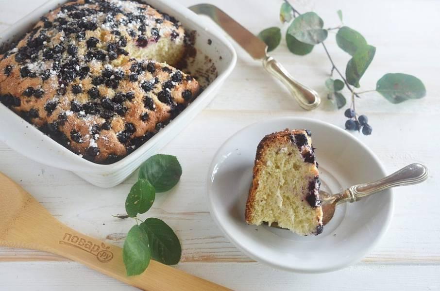 9. Выпекайте пирог в разогретой до 180 градусов духовке около 40 минут. Приятного аппетита!