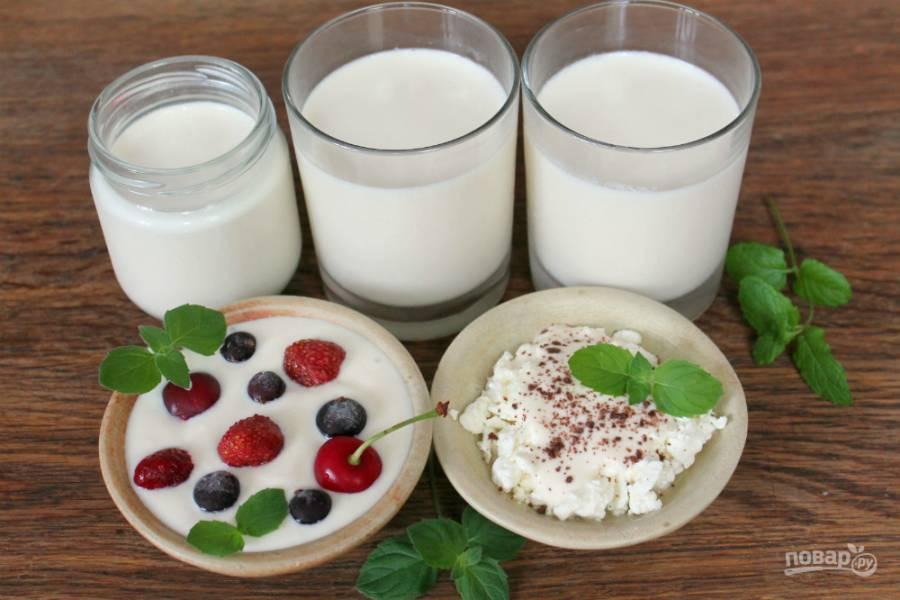 Йогурт из топленого молока