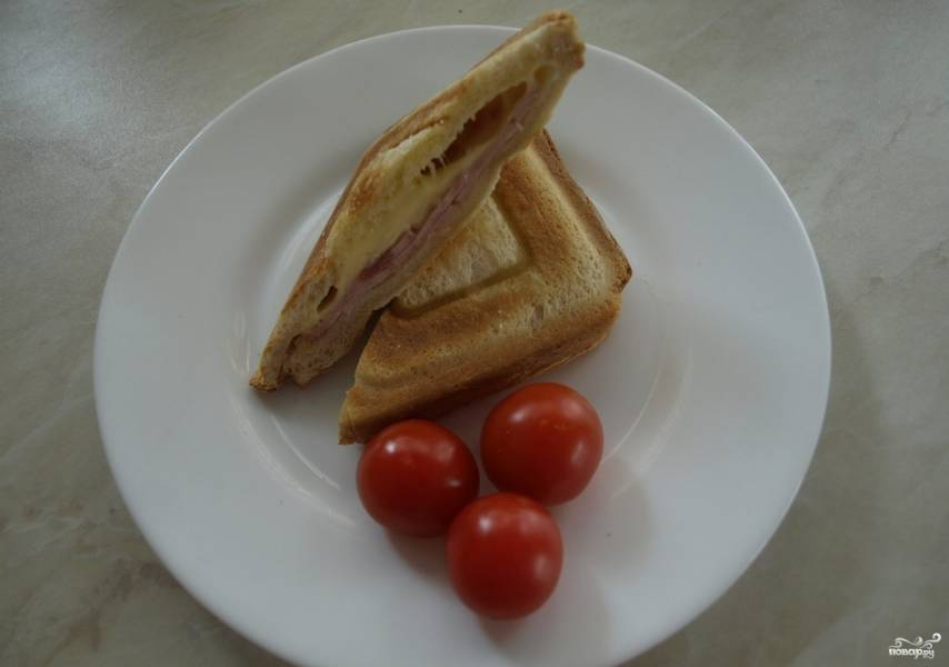 Сэндвичи в сэндвичнице