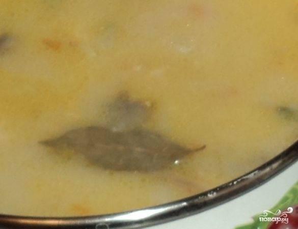 6. Вот такой аппетитный и очень нежный грибной суп из замороженных шампиньонов в домашних условиях получится. Подавать к столу можно с сухариками. Приятного аппетита!